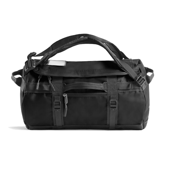 BASE CAMP DUFFEL - EXTRA SMALL - BLACK/ WHITE