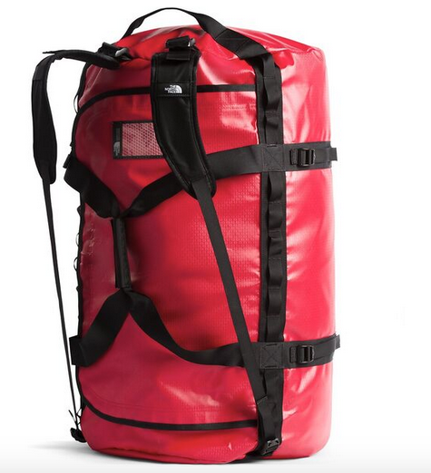 BASE CAMP DUFFEL - XL  RED / BLACK