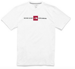 MEN'S SHORT-SLEEVE LOGO PLUS TEE TNF WHITE