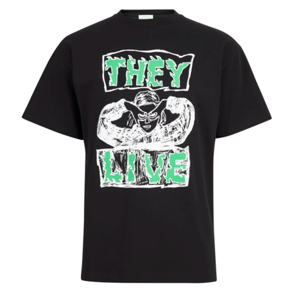 They Live Tee Black