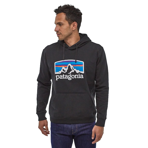 Men's Fitz Roy Horizons Uprisal Hoody Black