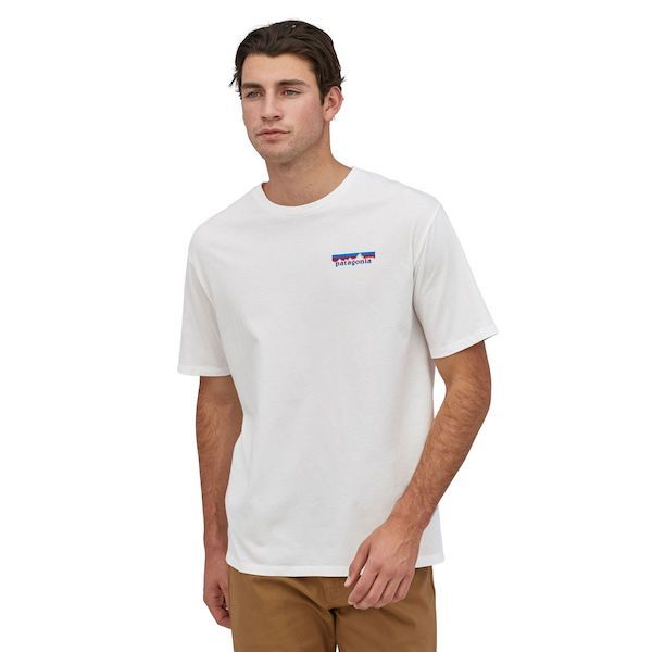 Men's Together For The Planet Logo Organic T-Shirt - White