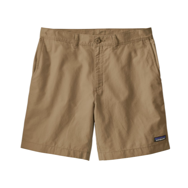Men's Light Weight All-Wear Hemp Shorts - 8 In - Mojave Khaki