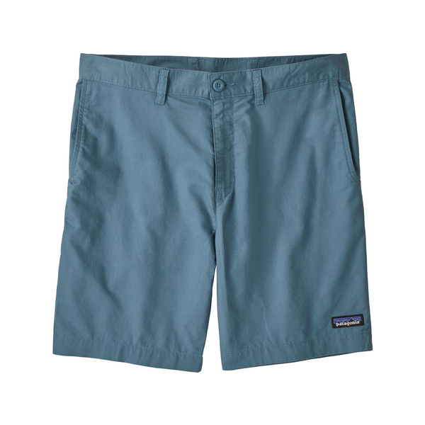 Men's Light Weight All-Wear Hemp Shorts - 8 In - Pigeon Blue