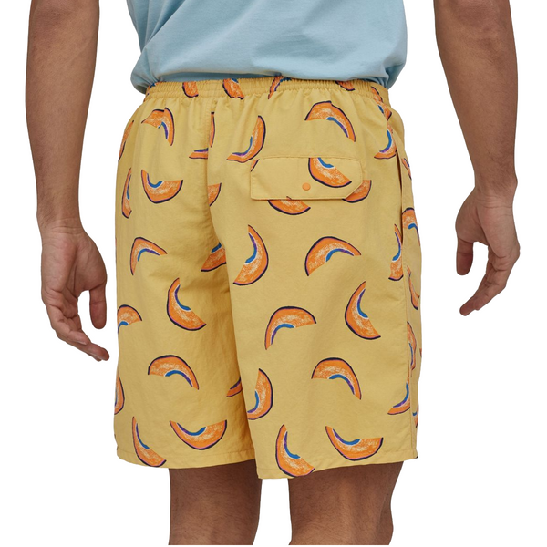 MENS BAGGIES LONGS 7IN - Melons: Surfboard Yellow