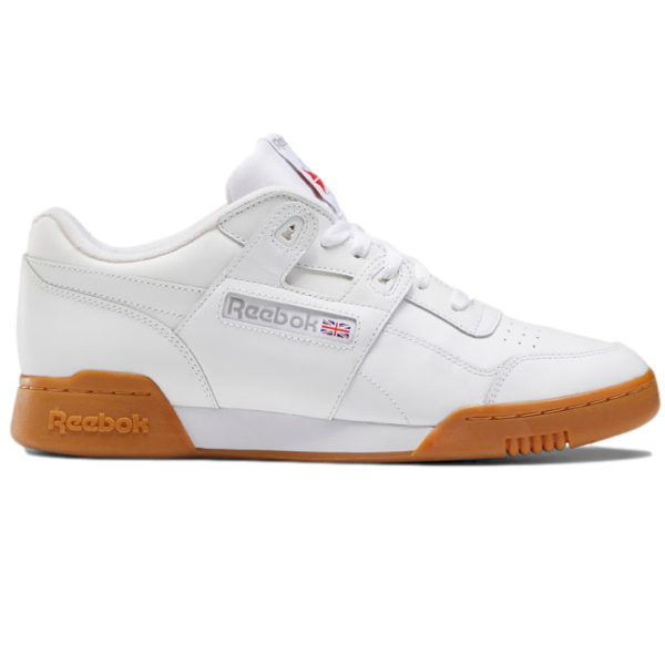 WORKOUT PLUS White / Carbon / Classic Red / Reebok Royal-Gum