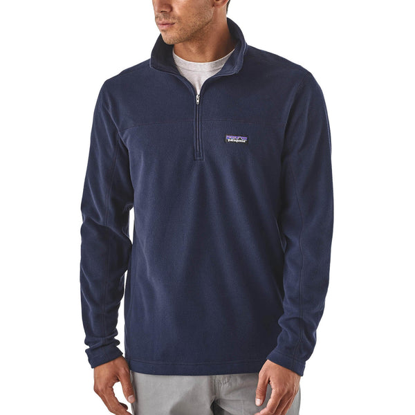 Patagonia Men's Micro D Pull Over  New NAVY
