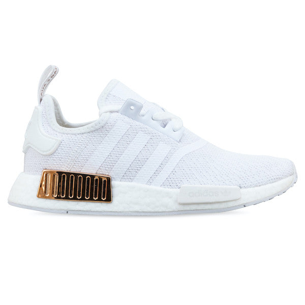 NMD_R1 SHOES Cloud White / Cloud White / Copper Metallic
