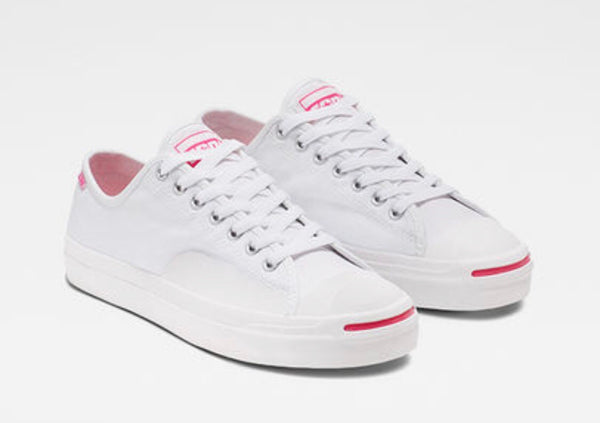 JP PRO OP OX WHITE WHITE/RACER PINK