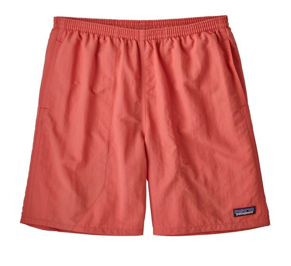MENS BAGGIES LONGS 7IN SPICED CORAL