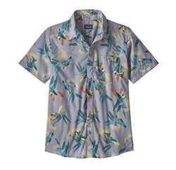 MENS GO TO SHIRT PARROTS GHOST PURPLE