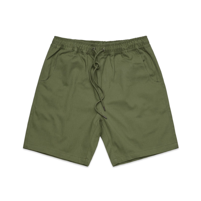 MENS WALK SHORT - 5909 - MILITARY GREEN