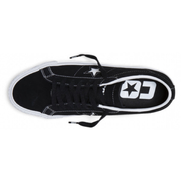 CONS One Star Pro Suede Low Top Black