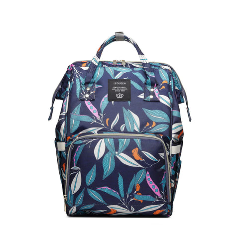 Tropical Deluxe Stylish Baby Care Diaper Backpack