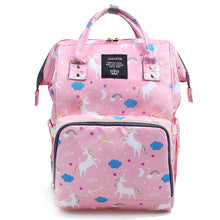 Load image into Gallery viewer, Lucky Unicorn Rainbow Collection Baby Maternity Diaper Bag