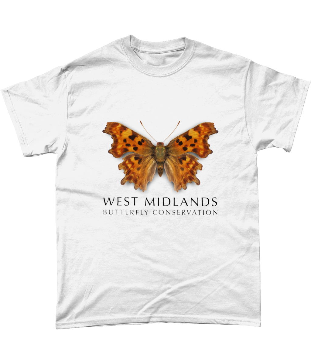 West Midlands Comma Butterfly, Adult (Unisex) T-Shirt