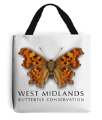West Midlands Comma Butterfly, Tote Bag