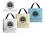 West Midlands 40 Year Anniversary, Tote Bag