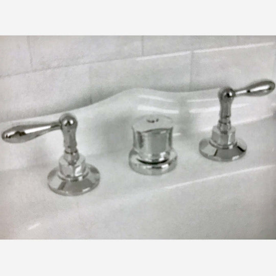 Coventry Brassworks Three Hole Deck Bidet