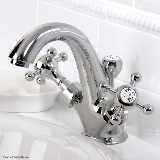Coventry Brassworks Single Hold Lavatory Faucet with Cross Handles