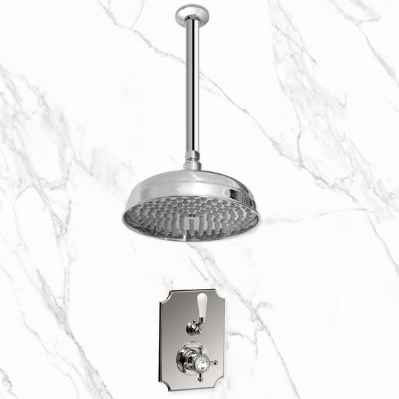 Coventry Brassworks Concealed Thermostatic Shower System with 18