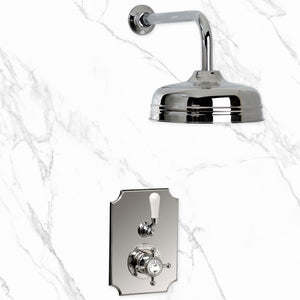 "Coventry Brassworks Concealed Thermostatic System with 12"" Shower Head"