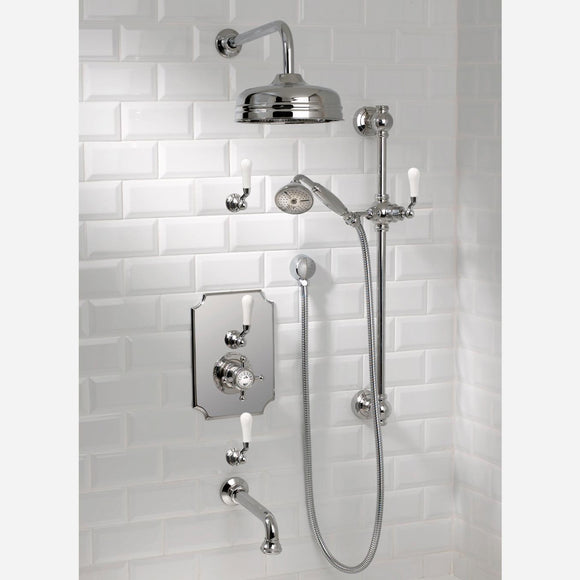 Coventry Brass Works Concealed Thermostatic System with 12