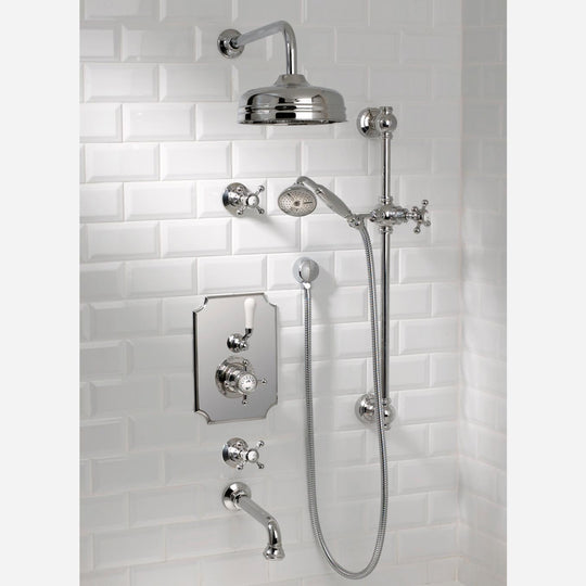 Coventry Brassworks Concealed Thermostatic System with 12