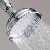 "4"" Skirted Rainhead Shower Head"