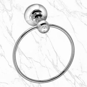 "Coventry Brassworks 6"" Towel Ring"