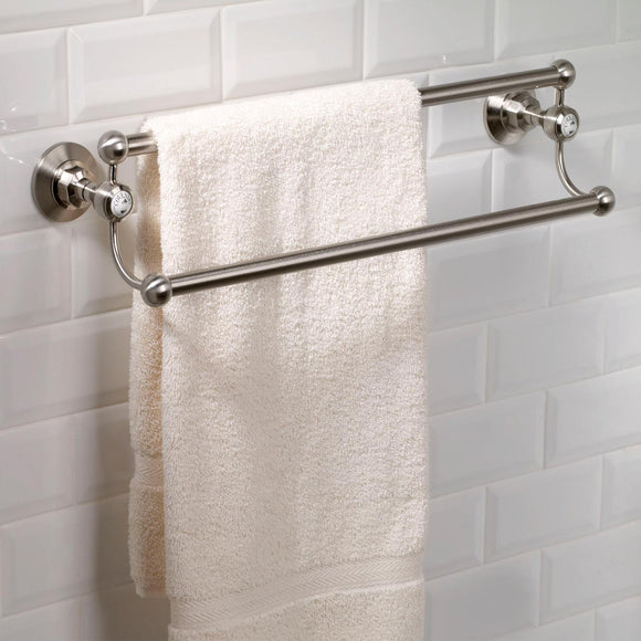 Coventry Brassworks Double Extended Towel Bar