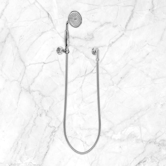 Reserve Collection Wall Mount Hand Shower Set with Waterway and Wall Bracket