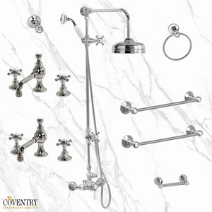 Coventry Brassworks Thermostatic Bath Set