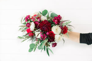 Bridal Bouquet - Jeweled Berry - Classic