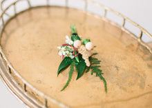 Load image into Gallery viewer, Boutonniere - Peachy Keen - Textural