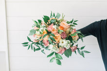 Load image into Gallery viewer, Bridal Bouquet - Peachy Keen - Lush