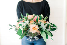 Load image into Gallery viewer, Floral Compote - Peachy Keen