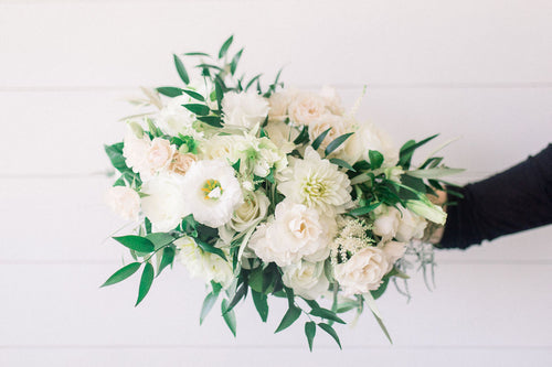Bridal Bouquet - White Out - Lush