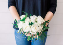 Load image into Gallery viewer, Bridesmaid Bouquet - White Out - Classic