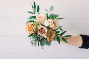 Bridesmaid Bouquet - Desert Rose - Classic