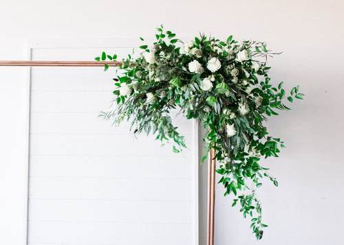 Greenery & Floral Arbor Accent