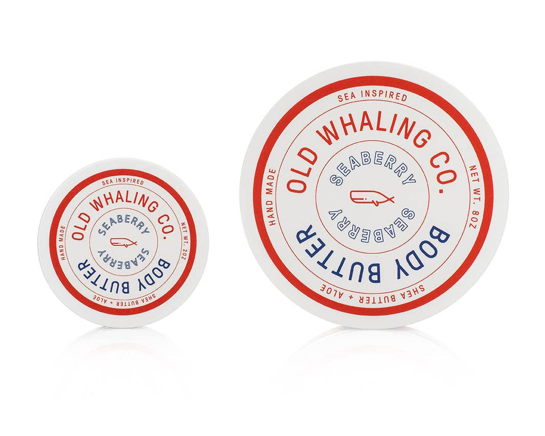 Old Whaling Company - Seaberry Travel-Size Body Butter (2oz)