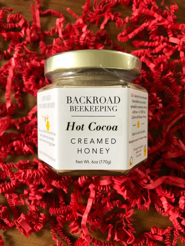 Backroad Beekeeping - Hot Cocoa Creamed Honey