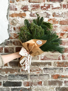 Winter Greenery Wrap