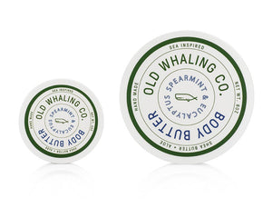 Old Whaling Company - Spearmint + Eucalyptus Travel-Size Body Butter (2oz)