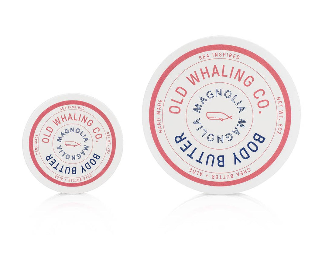 Old Whaling Company - Magnolia Travel-Size Body Butter (2oz)