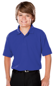 BG5300  Youth Value Wicking Polo