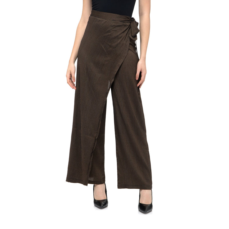 BLACK STRIPES TROUSER PANTS - ZOMO