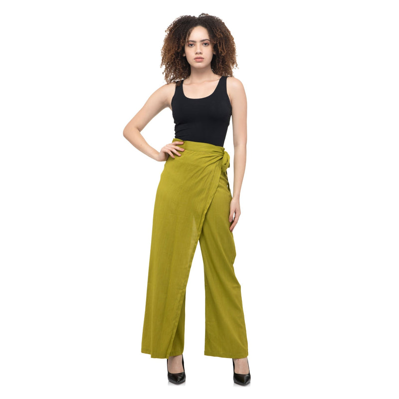 GREEN STRIPES TROUSER PANTS - ZOMO