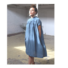 Load image into Gallery viewer, Simone Dress in Blue Check
